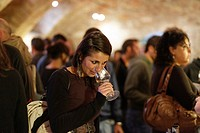 Woman Winetasting, La Morra, Langhe, Piedmont, Italy