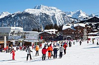 Courchevel main ski area, Savoie, Rhone-Alpes, France