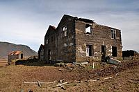 Ruin of old abandoned farm, Iceland