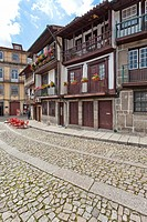 Santiago Medieval Square also known as Sao Tiago or Sao Thiago in the Historical Center of Guimaraes, Portugal  World Heritage