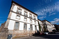 Municipal Library of Braga city, Portugal  Formerly it was the Archbishop palace, known as the Bragan&#231;as Palace