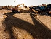 Construction of the AVE, Valencia. Joaquin Sorolla Station, Valencia