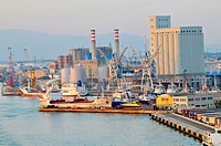 Livorno Italy Europe Port Shipping Transportation Goods