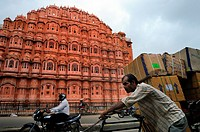 Hawa Mahal Palace of Winds, Jaipur, Rajasthan, India