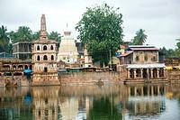 Banashankari amma temple , Badami , Bagalkot , Karnataka , India