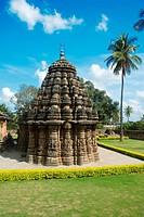 Shivalaya temple , Hoysala , Arasikere , Hassan , Karnataka , India