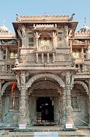 Entrance of hatheesingh shah temple , Ahmedabad , Gujarat , India