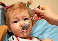 Feeding of a baby_girl