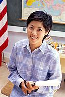 Asian American Teacher