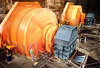 Ore Crusher in Factory