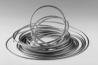 galvanised or galvanized steel wire