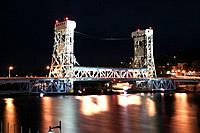 Houghton Vertical Lift Bridge
