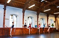 ballet dancing girls, New Zealand, Christchurch