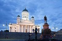 Finland , Helsinki City, San Nicolas Cathedral.