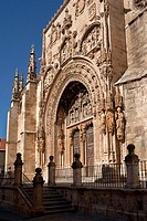 Church of Santa Maria la Real, Aranda de Duero Castilla y Leon Spain Europe