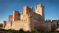 Castle of Mota. Medina del Campo. Valladolid. Castilla y León. Spain. Europe