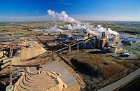 Athabasca pulp mill, alberta, Canada.