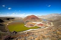 Meke volcanic lake, Turkey, Anatolia, Konya