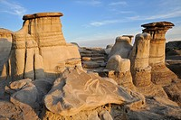 Hoodoos, Badlands, Willow Creek, Drumheller, Alberta, Canada