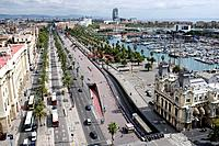 Old Port in the Barcelona