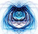 Abstract fractal background repeat