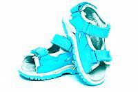 Blue child´s sandals
