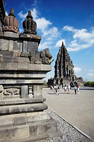 Vishnu Temple at Prambanan complex UNESCO World Heritage Site, Java, Indonesia
