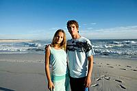 Teenager Couple on Beach