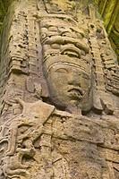 Guatemala, Quirigua, Mayan stela