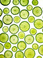 Slices of Different Lime Varieties