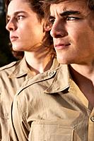 Two Young Men Outdoors