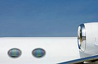 Windows of Business Jet
