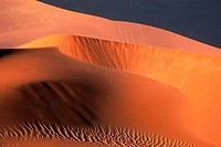 Sossus Vlei, Namib Desert, Namib-Naukluft Park, sand dunes, sunset light, Namibia