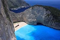 The Shipwreck Beach, Zakynthos, Greece