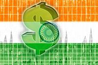 Flag of India finance economy