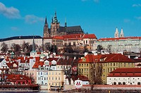 Hradcany _ Prague castle _ cathedral of St Vitus
