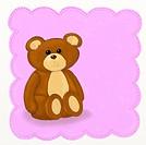 Teddy bear _ Childish style