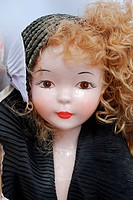 Retro porcelain doll