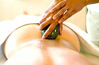 LaStone Therapy on Lower Back