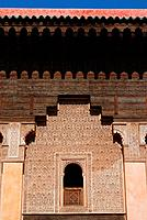 geography / travel, Morocco, Marakesh, buildings, The Saadian tombs in Marrakech date back from the time of the sultan Ahmad al_Mansur 1578_1603. The ...