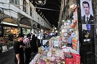 Souq al-Hamidiyya  Damascus, Syria.