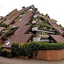 ´Huegelhaeuser´, Germany, North Rhine_Westphalia, Ruhr Area, Marl