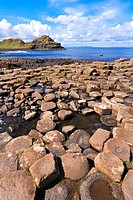 columnar basalt of Giant´s Causeway, Ireland, Northern Ireland