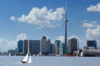 Waterfront and Skyline, Toronto, Ontario
