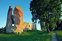 geography / travel, Estonia, Lihula, Leal, castle of the Order of the Teutonic Knights, castle ruin,