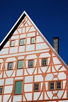 Old Half-timbered house in Memmingen