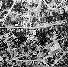 events, Second World War / WWII, aerial warfare, Germany, aerial photo of the destroyed city of Remscheid, taken by a RAF reconnaissance aircraft on 1...