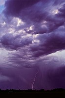 Lightning and Storm Clouds