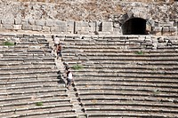 theatre, archeological area, miletus, southern aegean coast, turkey, asia