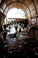 restaurant in a lodge
